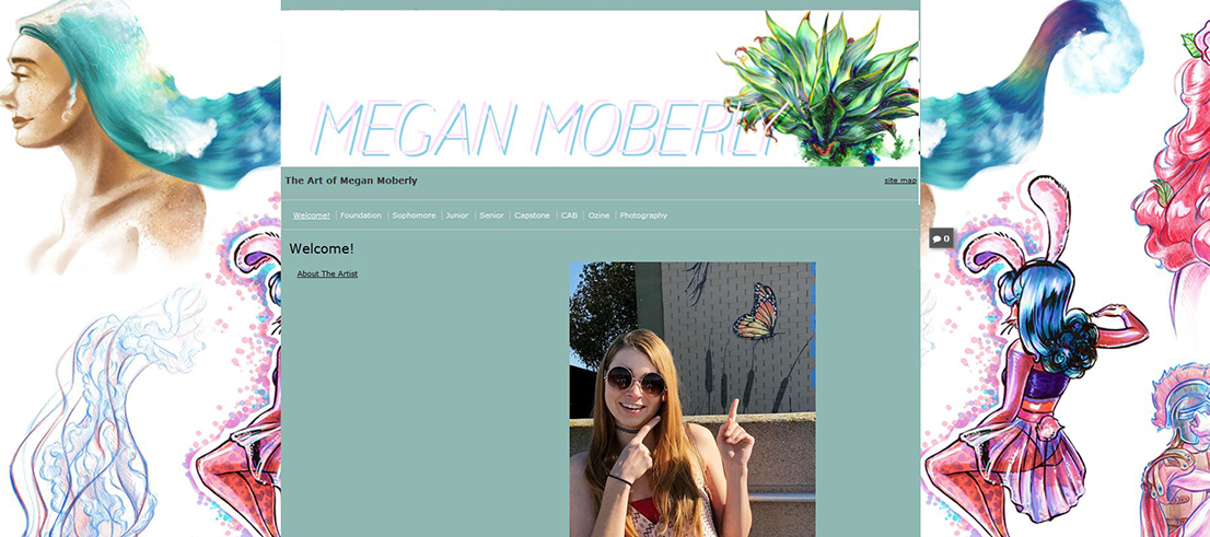 Megan Moberly's ePortfolio home page
