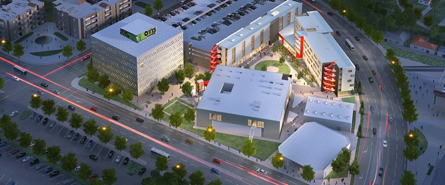 Campus Improvement Otis College Of Art And Design