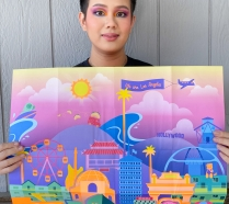 Khang Nguyen and Admissions Viewbook poster