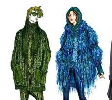 Fashion Design Student Work