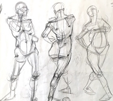 Foundation - Life Drawing