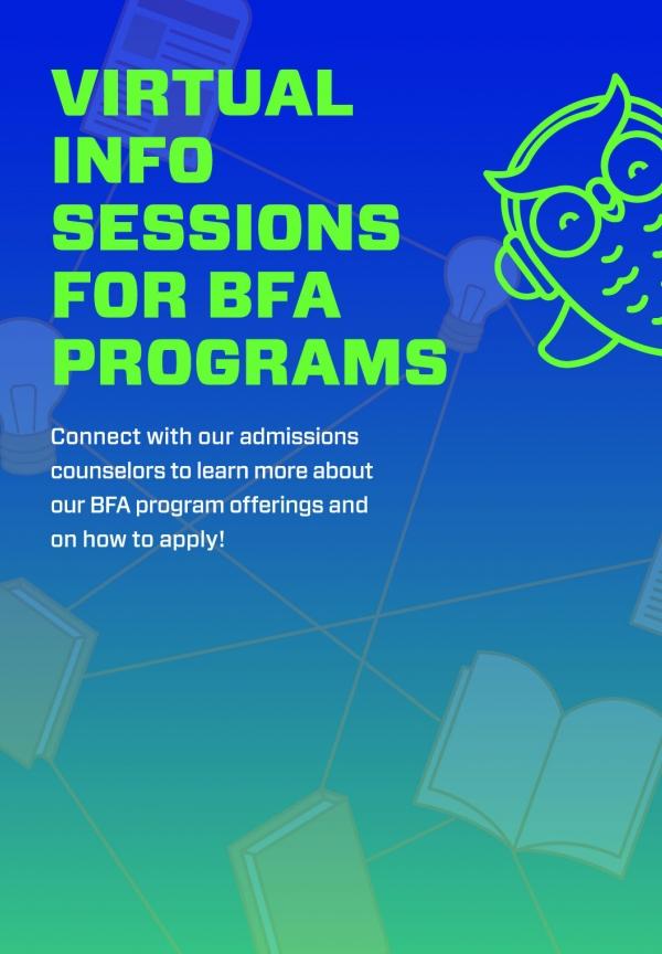 BFA Info Sessions