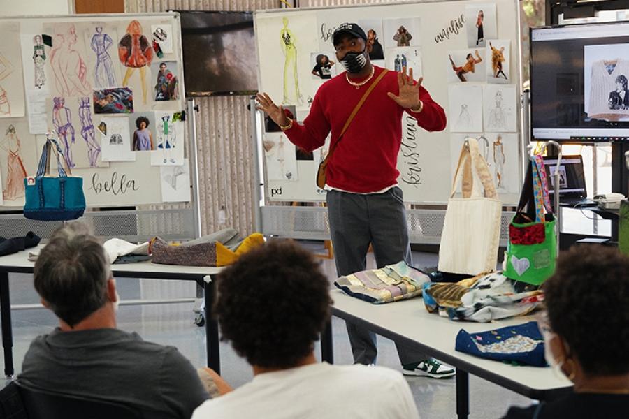 Jason Bolden at Otis College of Art and Design