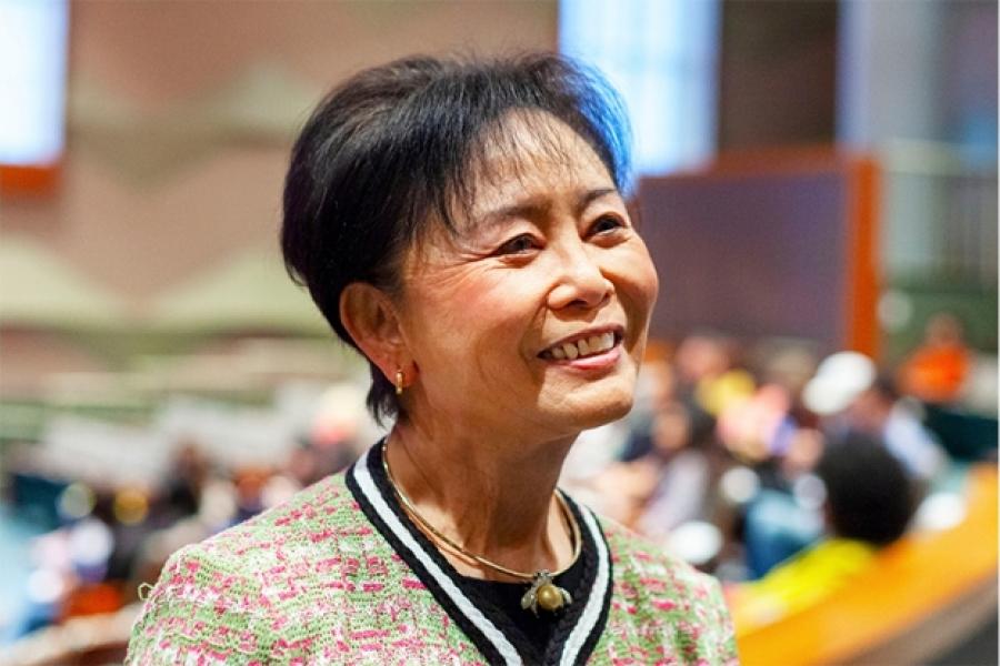Otis College Board of Trustees Chair Mei-Lee Ney