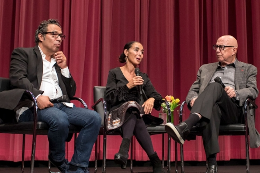 Shirin Neshat event at the Hammer