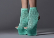 3D printed shoes by Ross Lovegrove for United Nude