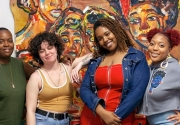 Artists at the 2019 Open Studios. Photos by Monica Nouwens.