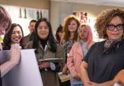 Ruth Carter with Otis College Fashion Design students