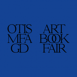 Otis MFAGD Art Book Fair