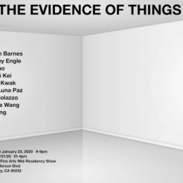 The Evidence of Things show poster