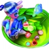 Its tea time for our snail doll and her pet snail!