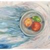 Float Through.2020. Oil on Canvas.