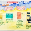 "I Love the Book Fair! 12"" x 15"" Watercolor on 140 lb cold pressed watercolor paper"