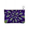 Textile design surface design repeat colors patterns  Eccentric Leaf Nature Merchandise Clutch Bag Bold