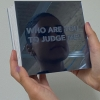 Who are you to judge me is a static manifesto about designers being judged personally instead of receiving an opinion about their work and design. The image-making was based on the power of the eyes to represent judgments. The cover of the book is made of mirrors , and the title was engraved. Lulu Alghofaili ,Graphic design, Los Angeles