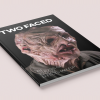 A publication dedicated to the history, evolution, and impact special effects makeup has had on the motion picture industry. SFX Monster Special Effects Makeup Horror Gore Publication book Otis Book Photoshop Cuba Oaks Graphic Design Los Angeles Two Faced