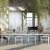 Urban Arboretum-Commune Interior Rendering of Shared Dining Room