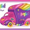 Lisa Frank Vehicle Playset