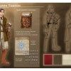 Outfit layering of Clandestine figure