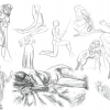 Figure Drawing Sketches