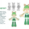 Honeygreen Character Information