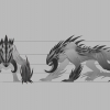 Large Predator Creature Concept
