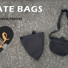 The Skate Bags are designed as a way of encouraging more people to adopt skateboarding as a mode of transportation by offering storage accessories that can be worn or attached to the skateboard itself.