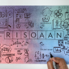 RisoAan is a term we use for our design practise that engages to do it yourself, to collaborate and to give a space to voice out. The word 'Riso' which comes from the Risograph machine used by us daily and 'Aan' means pride in hindi, therefore, it illustrates what we are worthy of, our self respect and confidence. We have four components; Makaan (house in hindi), Gyaan (knowledge in hindi), Zubaan (voice in hindi) and Dukaan (shop in hindi), where we apply our RisoAan practise.
