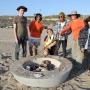 FA beach clay fire