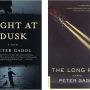 book covers of Light at Dusk and the Long Rain by Peter Gadol