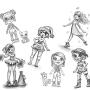 Toy Design - Concept Sketches