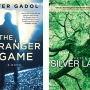 book covers of The Stranger Game and Silver Lake by Peter Gadol