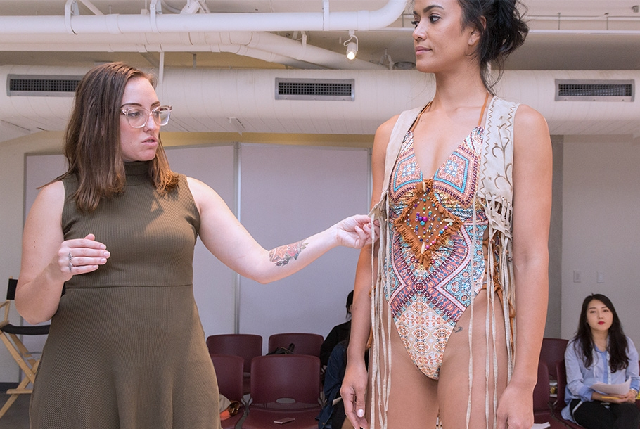 The College Prepares Students To Enter Global Industries Of Fashion Visual Arts Interior Design And Entertainment Our Graduates