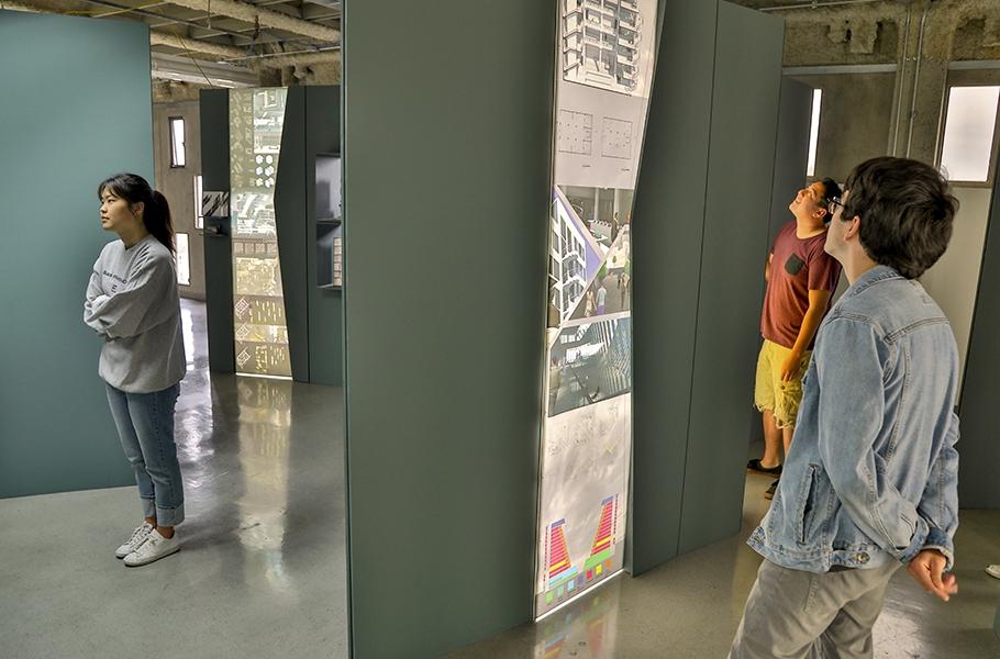 Architecture Landscape Interiors Class of 2018 Installation RIFT