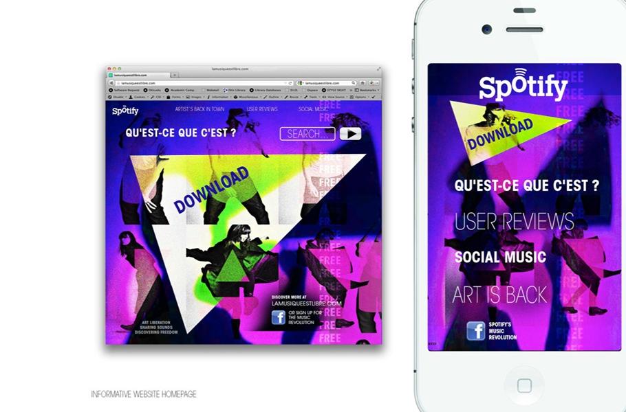 Advertising Design, Student Work