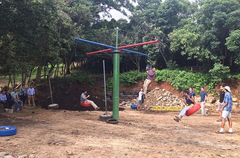 Tracee Johnson San Luis Playground