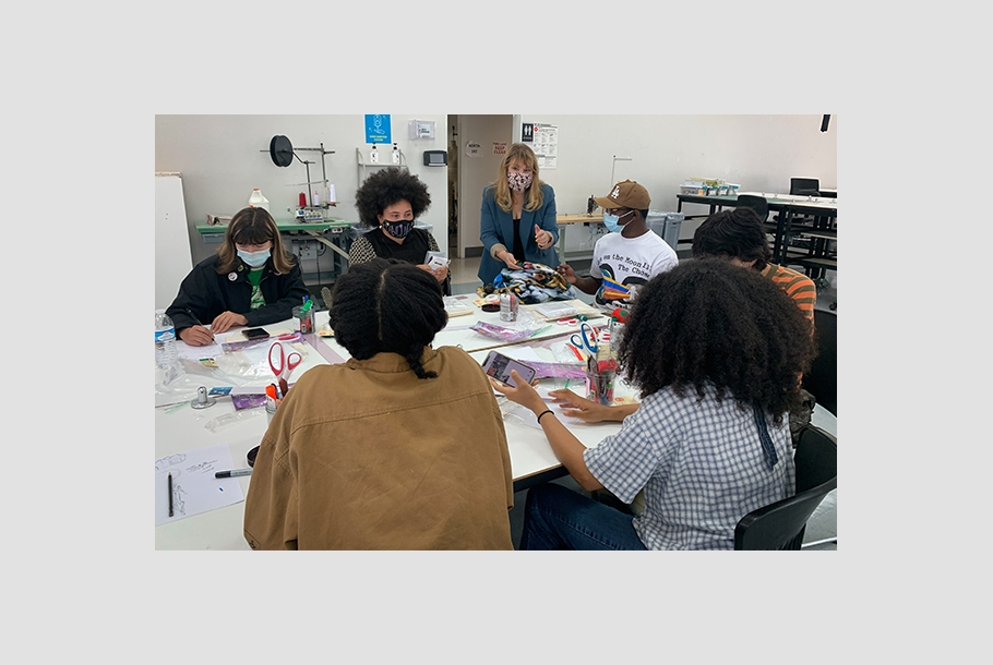 Summer of Style students learn product design at Otis College.