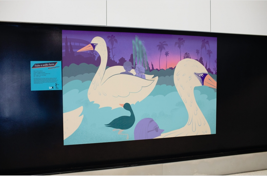 Swan Lake by Geneva Bernal ('19 BFA Communication Arts)