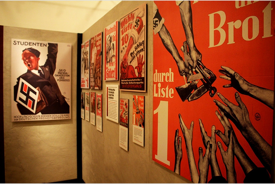 nazi propaganda essay example Propaganda in art in america today, not only is it possible for the entire population to be persuaded to believe a lie, but it is happening, just as it happened in nazi germany.