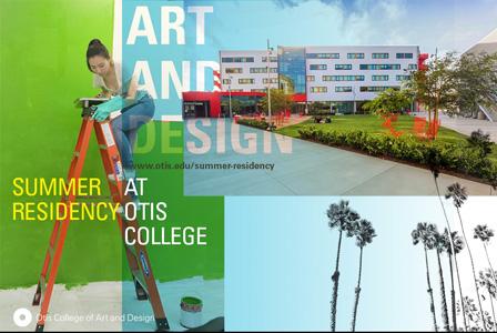 Summer Residency at Otis College of Art and Design