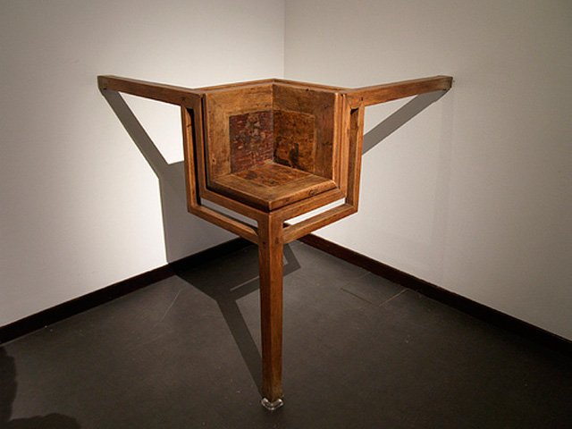 Ai Wei Wei, Table with Three Legs